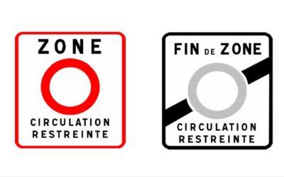 Umweltplakette Frankreich